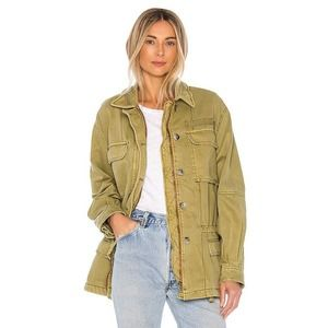 NEW FREE PEOPLE Seize The Day Utility Jacket